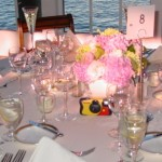 Wychmere, table set for wedding