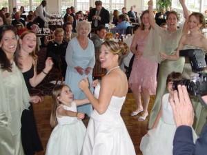 Happy Coonamassett Inn Bride
